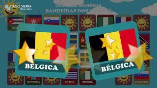 Jogo da Memória - Bandeiras dos países 2