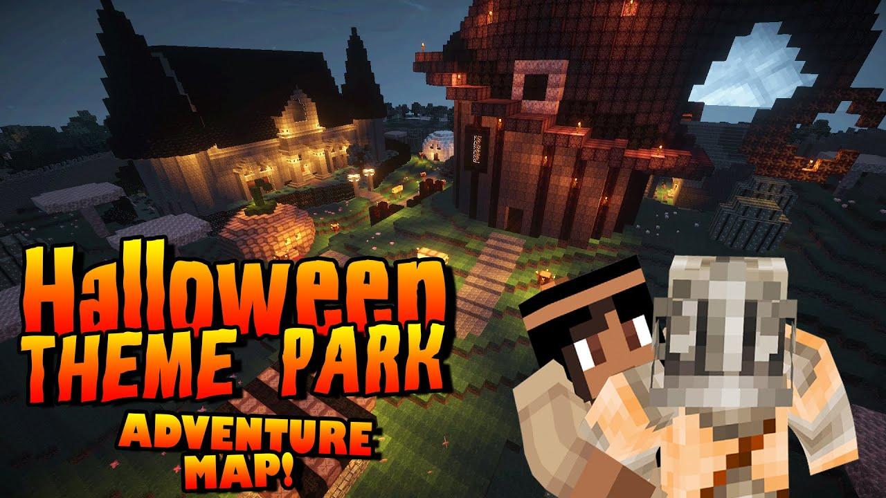Minecraft: Halloween Adventure Map - Theme Park - (minecraft ...