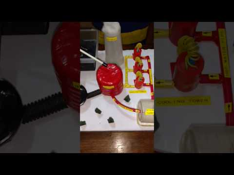 how to make a hydroelectric generator for kids