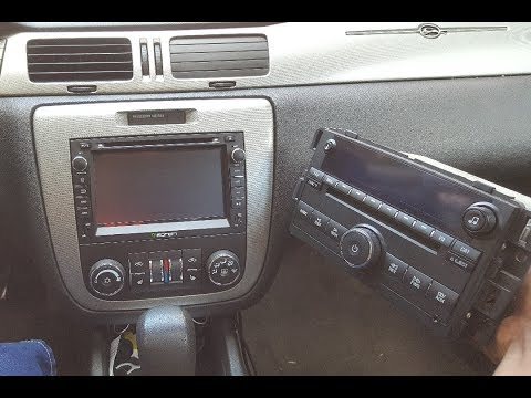 How to install Eonon Octa Core GA7180A Android head unit Impala 20062013 limited 20142016