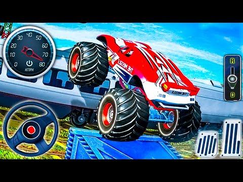 الولايات المتحدة الوحش القيادة شاحنة مستحيلة المثيرة - العاب سيارات - ألعاب أندرويد - محاكي القيادة