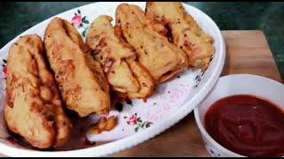 Bread pakora recipe-Quick bread fritters-Easy Indian Snacks recipe with Renu Dass(aMulti Guru)