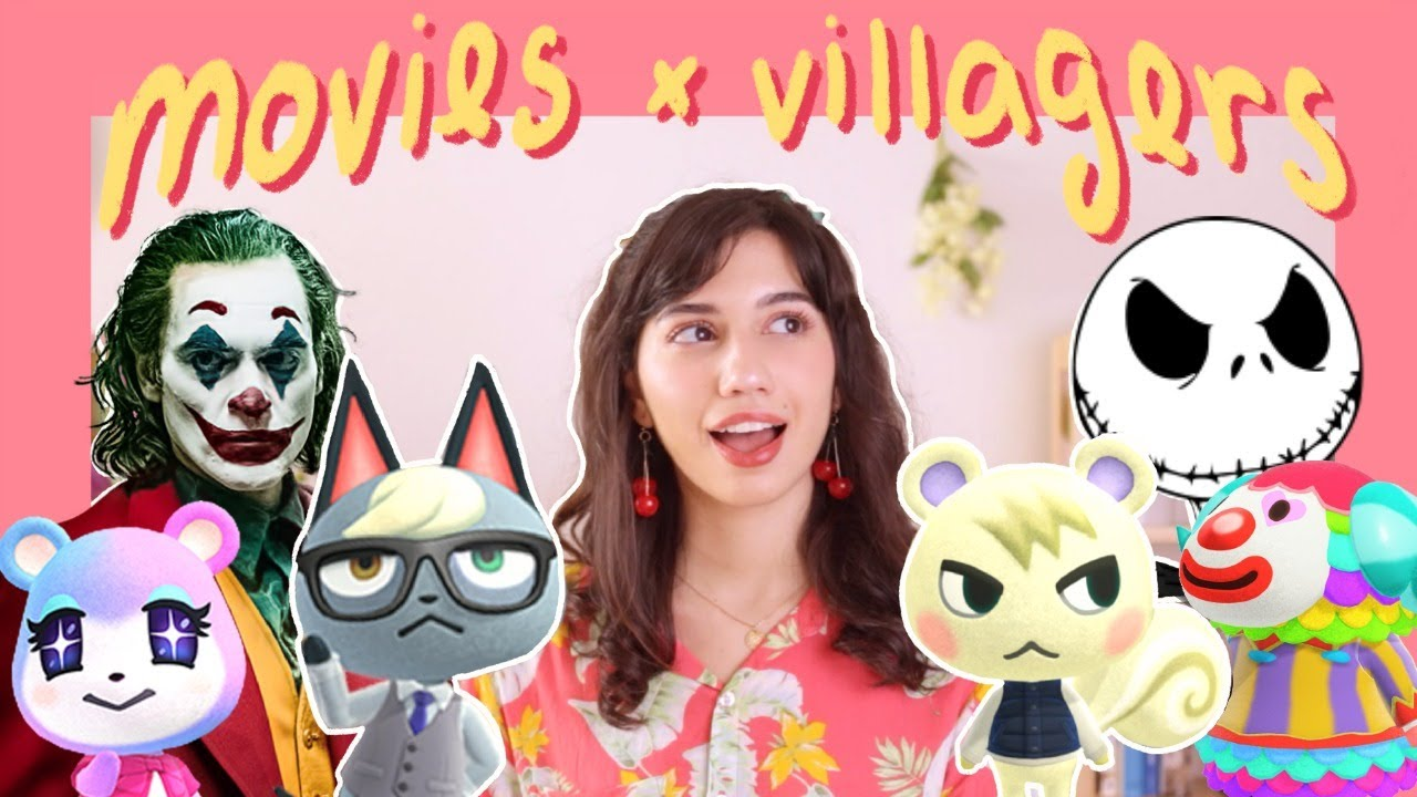 pairing animal crossing villagers with movies
