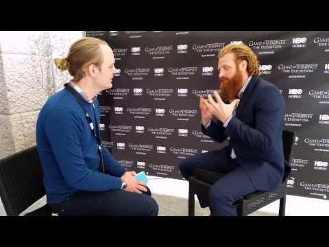 Johan intervjuar Kristofer Hivju