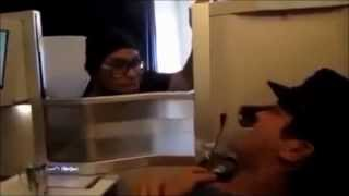 Bruno Mars and Phil Lawrence - FUNNY on airplane