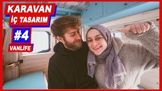 Karavan Yapımı : İÇ TASARIM, MOBİLYA, DEKORASYON - Hello People #VanLife 4