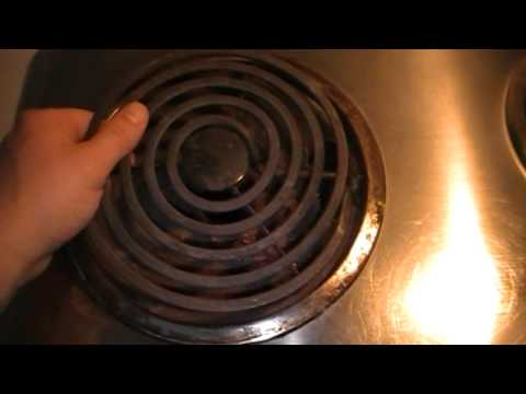 How To Replace Or Change The Heating Element On an Electric Stove Top