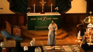 Ballad sjungen av Agneta Stolpe