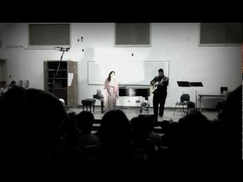 Ain't No Sunshine (cover) - Alisa Galper & Isaac Gomes