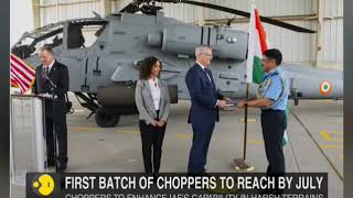 IAF gets its first AH-64E Apache Guardian attack helicopter in US