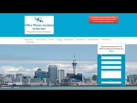 Office Movers Auckland - Call Us Today 09-884 0991 For A Free Quote