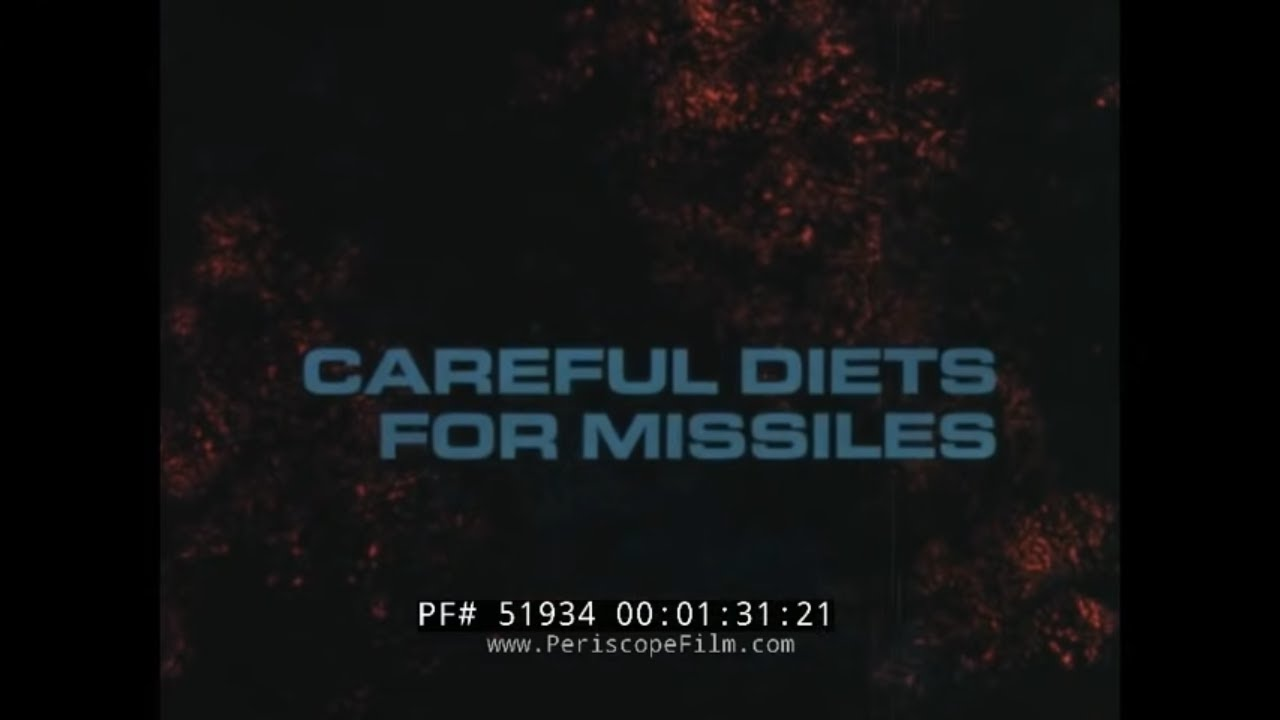 THIOKOL ROCKET & MISSILE PROPELLANT SOLID ROCKET BOOSTERS
