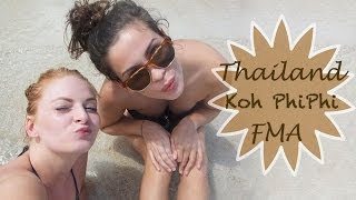 THAILAND FMA, Koh Phi Phi | Party, Strand, Feuer-Shows | Backpacking Follow me around | #wienerallee