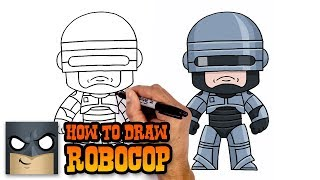 How to Draw Robocop (Art Tutorial)