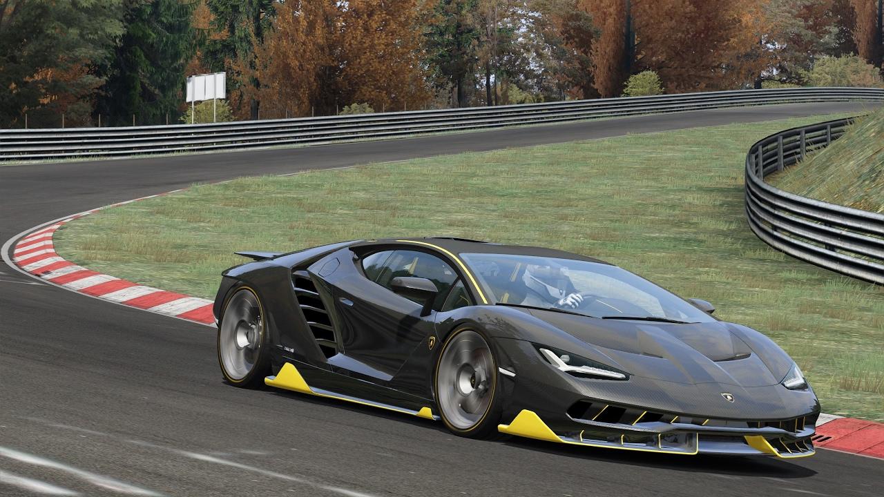 Lamborghini Centenario Lp 770 4 Nurburgring Assetto Corsa Youtube