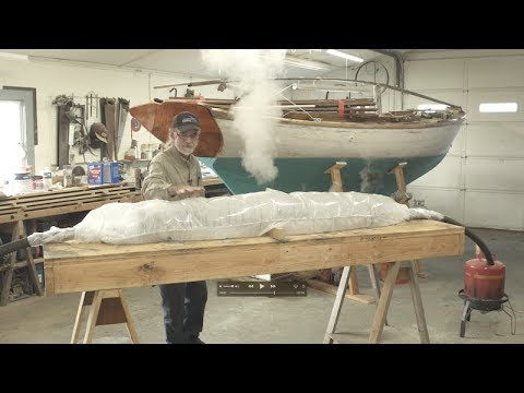 Building the TotalBoat Sport Dory: Episode 10 - Compression Steam Bending