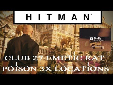 Hitman Club 27 Rat Poison 3 X Location Walkthrough Bangkok Episode 4 Ps4 Xbox Pc Youtube