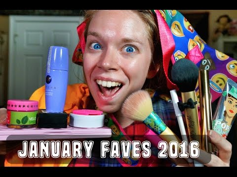 ♡ JANUARY FAVES- 2016! ♡