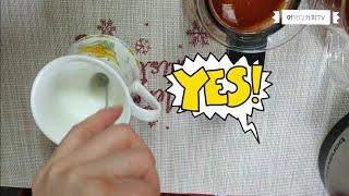 [리뷰] 휴대용 우유거품기 사용법