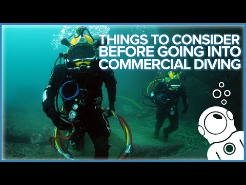 Things To Consider Before Going Into Commercial Diving