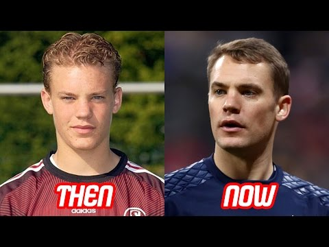 Goalkeeper Manuel Neuer Transformation Before And After (Hair & Body & Tattoos) | 2017 NEW