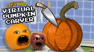 Annoying Orange - Virtual Pumpkin Carver w/ Midget Apple #Shocktober