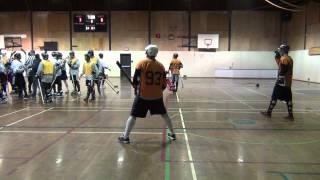 Ball Hockey Fight - Herman Bains Jr. vs. Stan McClelan (Deluxe Version)