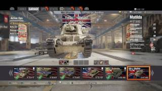 World of Tanks - British Heavies: Matilda Review