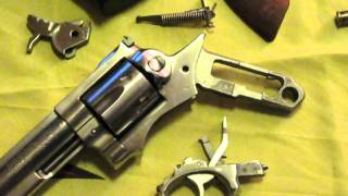 Basic Firearms Disassembly #2: Ruger GP100 revolver