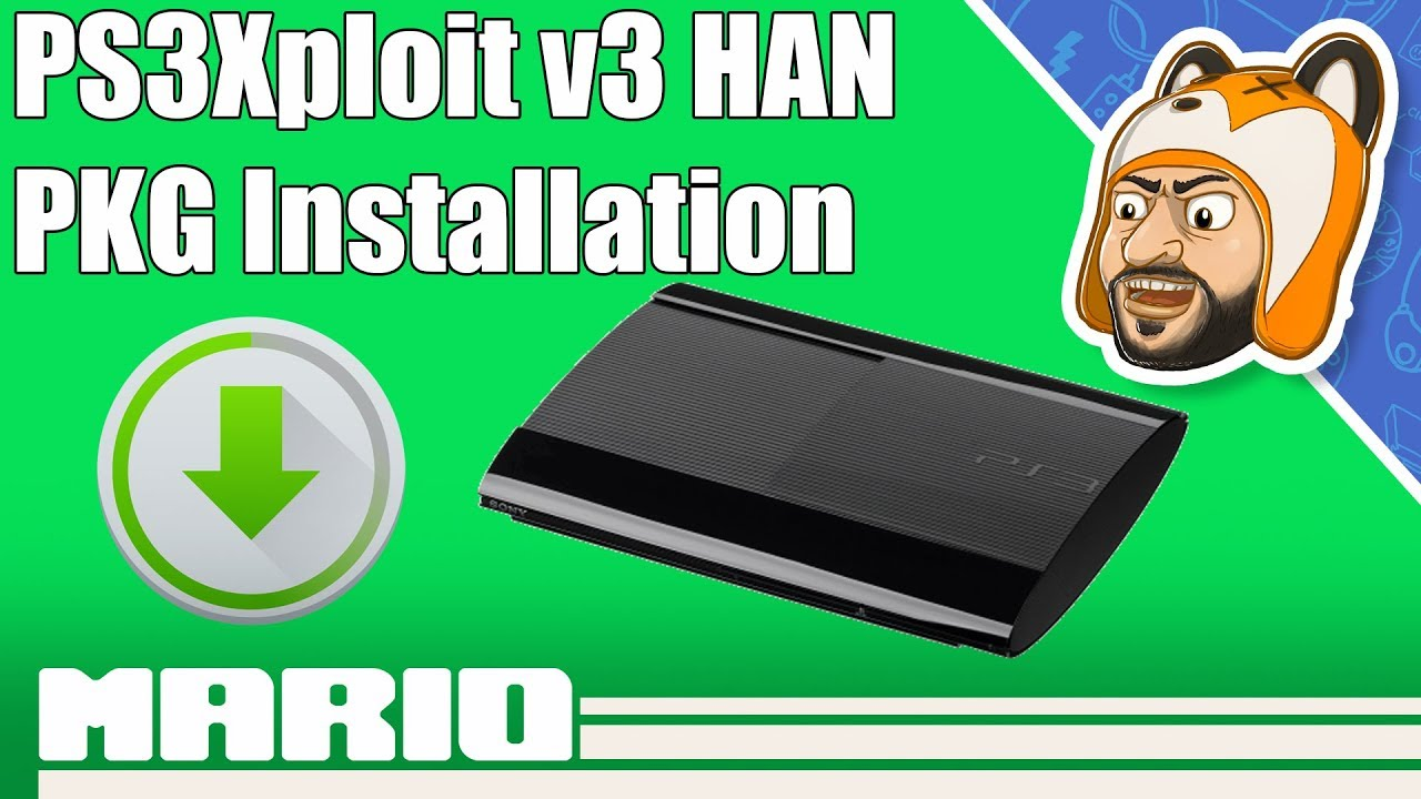 How to Backup & Install PS3 Games on HAN | PKG Install for PS3Xploit v3