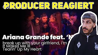 Producer REAGIERT auf Ariana Grande feat.'NSYNC - break up with your girlfriend, i'm bored/It