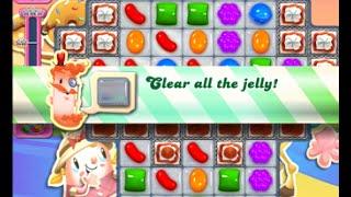 Candy Crush Saga Level 1555 walkthrough (no boosters)