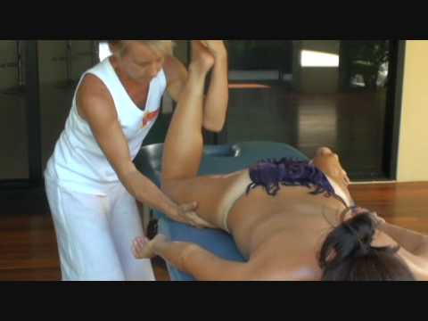 Erotic japanese full body massage video