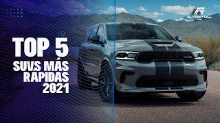 Las 5 SUV más rápidas del Mundo en 2021
