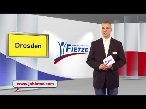 Dresden ! Februar 2014 Joblotse TV präsentiert 3 exklusive Stellenangebote aus Dresden