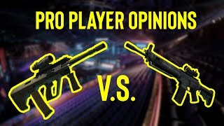 Pro Player Opinions: AUG vs. KRIEG