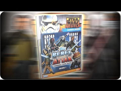 Star Wars REBEL ATTAX Sammelmappen Update