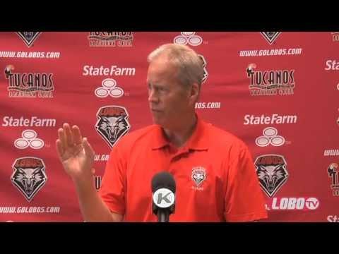 2012 Lobo Football | Media Day - Head Coach Bob Davie Press Conference