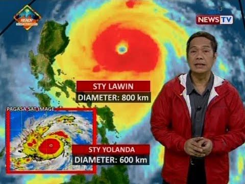 SONA: Bagyong Lawin, ramdam na sa buong Northern Luzon; 6 na lalawigan, nasa Signal No. 5