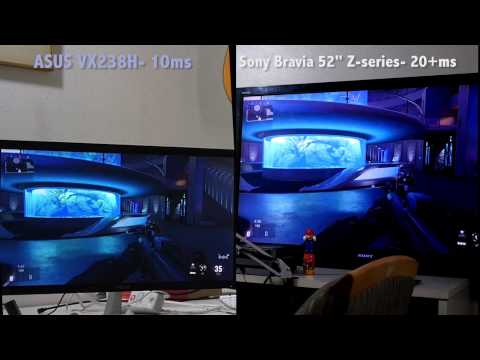 Gaming Monitor for PS4 (input lag comparison)