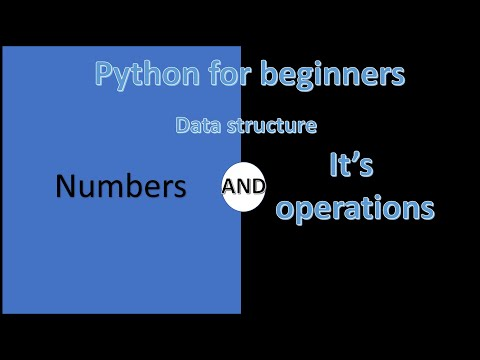 Numbers in Python | python for beginners | Learn Python | Python Tutorial thumbnail