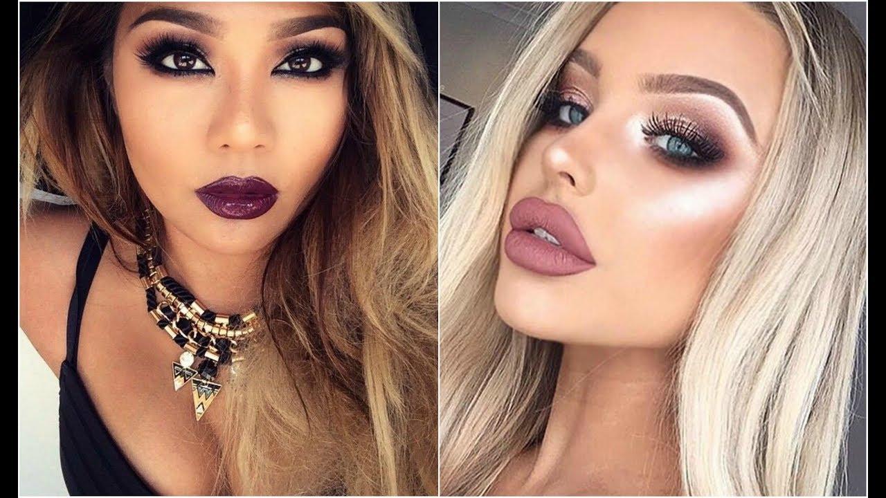 Imagenes De Maquillaje Para Descargar: Maquillaje Elegante De Noche 2018