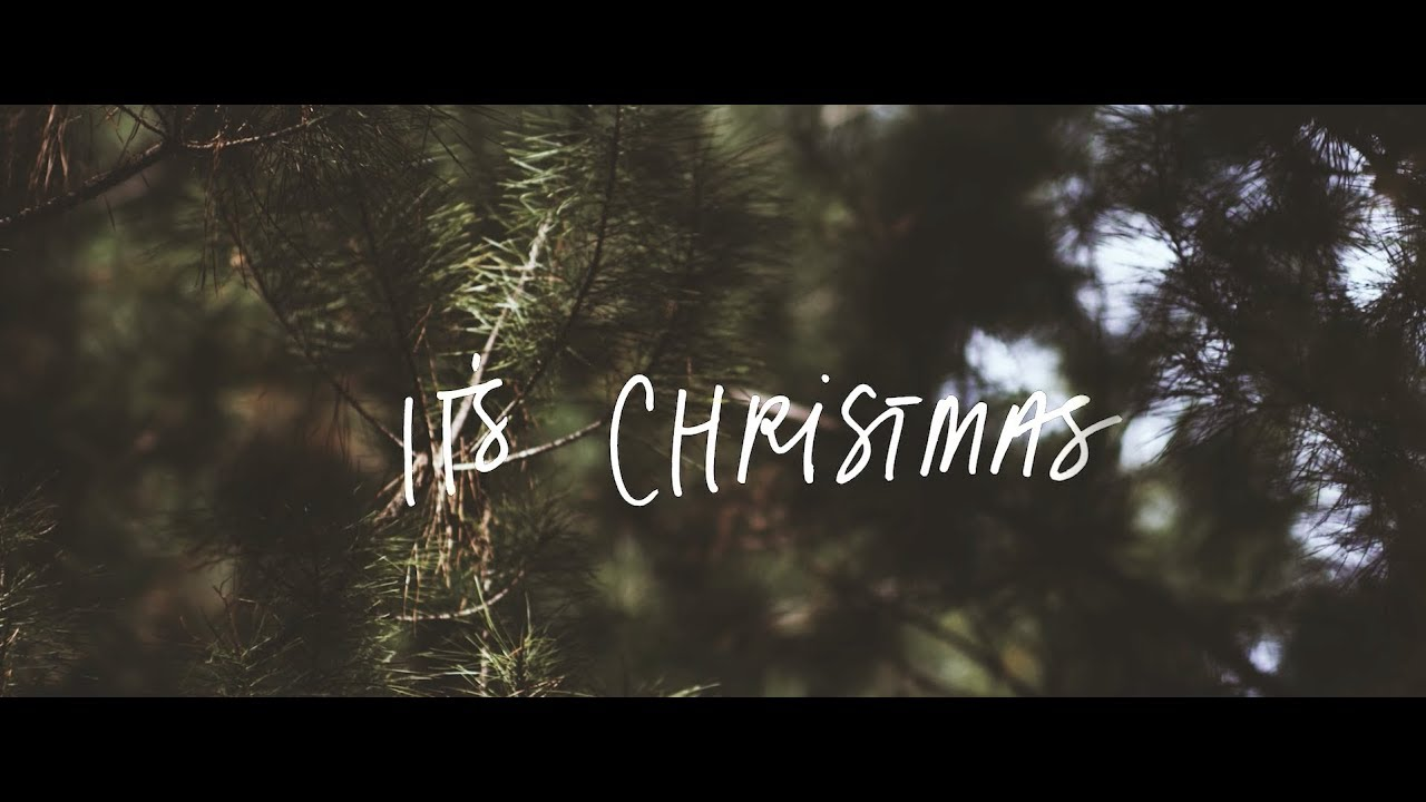 It's Christmas | Official Lyric Video