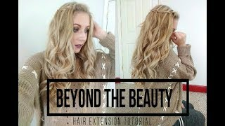 SHE Clip N Go Hair Extension Tutorial by