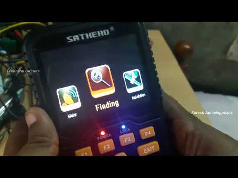 Sathero SH-400 Menu and Channel Scanning