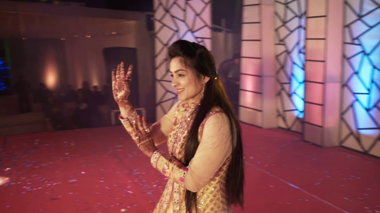 wonderful surprise sangeet dance beautiful groom sister dance performance ankit titili