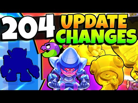 204 NEW Update Changes! Secret Skins & EVERY True Gold Skin & More! | Brawl Stars Update