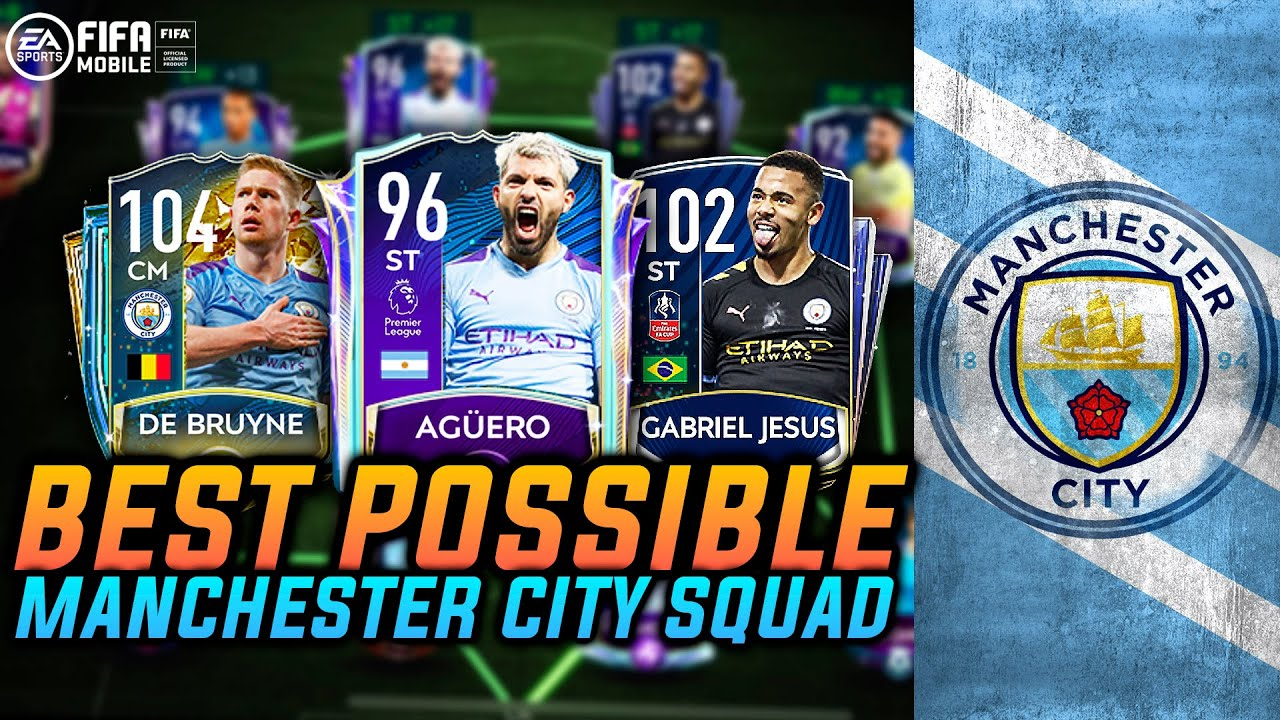 200M+ BEST POSSIBLE MANCHESTER CITY SQUAD | TEAM UPGRADE | MAN CITY SQUAD BUILDER | FIFA MOBILE
