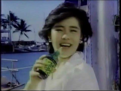 1985年CM 高部知子 チェリオ ミツカン 明治チョコレート