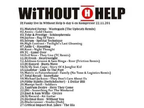 Dj Funky-live in Without Help B-day 6 ex-Kompresor 22 11 2013